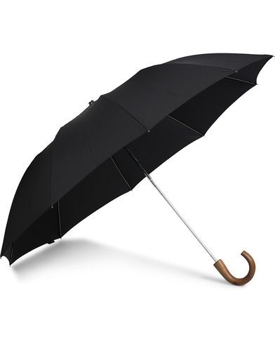Fox Umbrellas Telescopic Umbrella Black  i gruppen Assesoarer hos Care of Carl (13075610)
