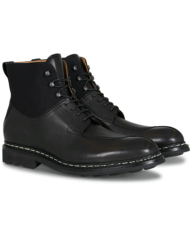 Heschung Ginkgo Boot Black Calf/Black i gruppen Skor / Kängor / Snörkängor hos Care of Carl (13085111r)