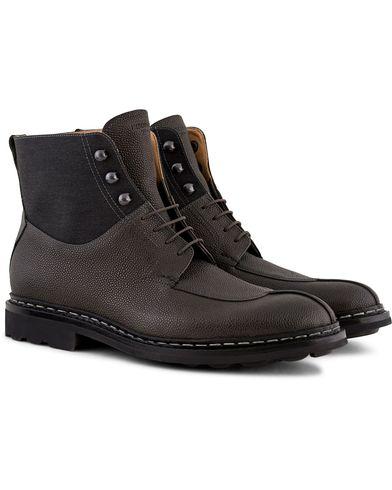 Heschung Ginkgo Beluga Boot Grained Black Calf i gruppen Skor / K�ngor / Sn�rk�ngor hos Care of Carl (13085311r)
