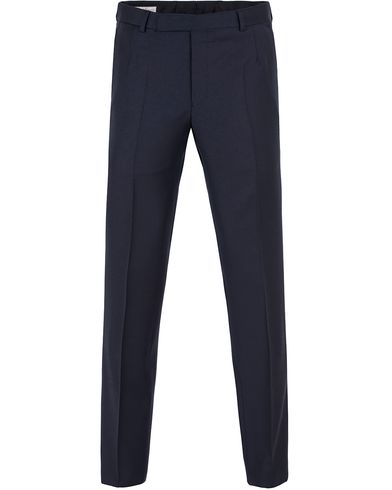 Gieves & Hawkes Wool Trousers Navy i gruppen Byxor / Kostymbyxor hos Care of Carl (13089911r)