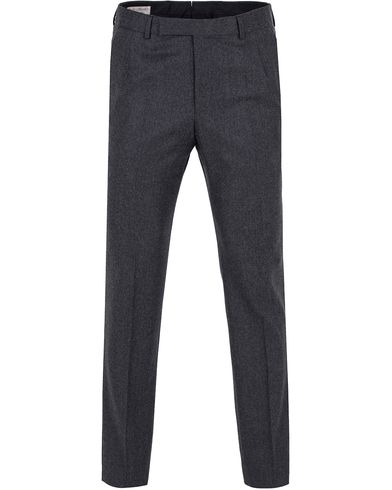 Gieves & Hawkes Light Flannel Trousers Charcoal i gruppen Byxor / Flanellbyxor hos Care of Carl (13090011r)
