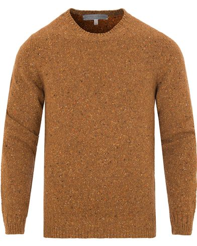 Gieves & Hawkes Donegal Crew Neck Sweater Gold i gruppen Kläder / Tröjor / Stickade tröjor hos Care of Carl (13090811r)