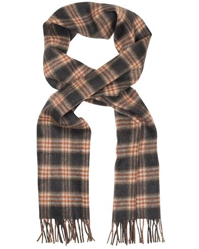 Gieves & Hawkes Cashmere Scarf Brown/Blue  i gruppen Accessoarer / Halsdukar hos Care of Carl (13091410)
