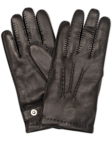 Dents The Heritage Collection Rushton Handsewn Hairsheep Glove Black i gruppen Sesongens nøkkelplagg / Hanskene til spaserturen hos Care of Carl (13091711r)