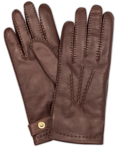 Dents The Heritage Collection Rushton Handsewn Hairsheep Glove English Tan i gruppen Säsongens nyckelplagg / Promenadhandskarna hos Care of Carl (13091811r)
