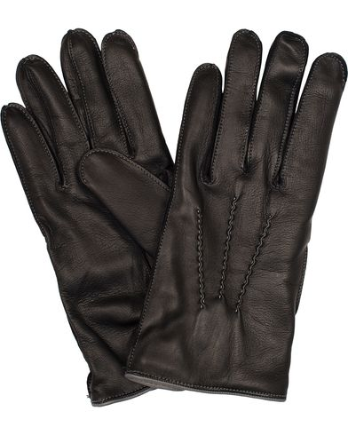 Dents The Heritage Collection Alnwick Hairsheep Glove Black/Grey i gruppen Sesongens nøkkelplagg / Hanskene til spaserturen hos Care of Carl (13092111r)
