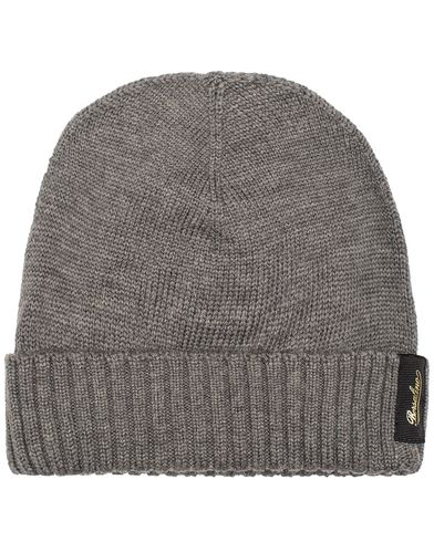 Borsalino Virgin Wool Cap Grey  i gruppen Assesoarer / Luer hos Care of Carl (13093910)