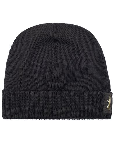 Borsalino Virgin Wool Cap Black  i gruppen Accessoarer / Mössor hos Care of Carl (13094010)