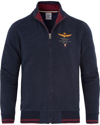 Aeronautica FE1116 Felpa Full Zip Navy i gruppen Kläder / Tröjor / Zip-tröjor hos Care of Carl (13094911r)