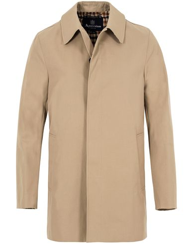 Aquascutum Berkeley Short Trenchcoat Camel i gruppen Jakker / Frakker hos Care of Carl (13096811r)
