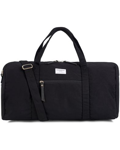 Sandqvist Sonny Polycotton Weekendbag Black  i gruppen Väskor / Weekendbags hos Care of Carl (13102710)