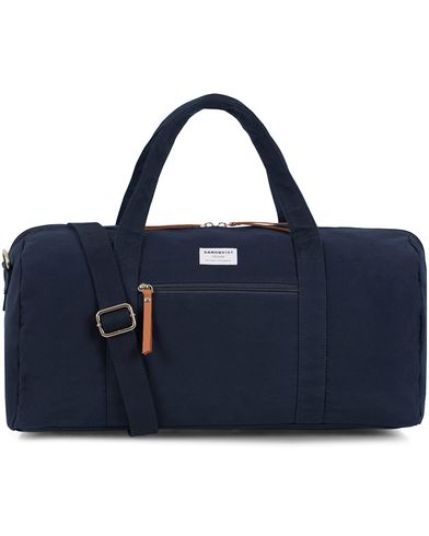 Sandqvist Sonny Polycotton Weekendbag Blue  i gruppen Assesoarer / Vesker / Weekendbager hos Care of Carl (13102810)