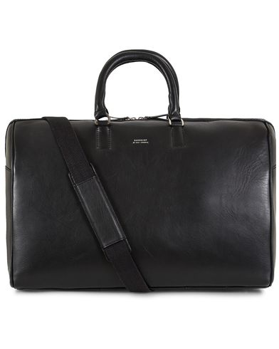 Sandqvist Ingrid Leather Weekendbag Black  i gruppen Accessoarer / Väskor / Weekendbags hos Care of Carl (13102910)