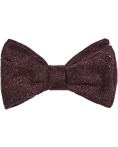 Amanda Christensen Self Tie Bordeaux Red  i gruppen Assesoarer / Sl�yfer hos Care of Carl (13105010)