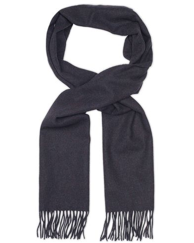 Amanda Christensen Winter Wool Melange Scarf Navy  i gruppen Accessoarer / Halsdukar hos Care of Carl (13106810)