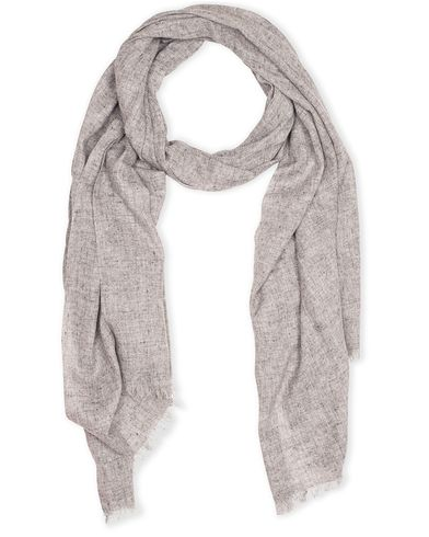 Amanda Christensen Wool Scarf Light Grey  i gruppen Assesoarer / Scarves hos Care of Carl (13108410)