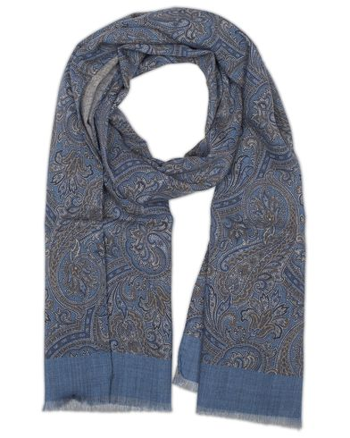 Amanda Christensen Wool Pasiley Scarf Navy  i gruppen Assesoarer / Scarves hos Care of Carl (13108610)
