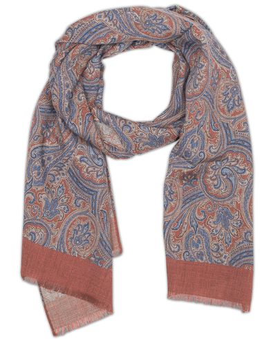 Amanda Christensen Wool Pasiley Scarf Rustic  i gruppen Assesoarer / Scarves hos Care of Carl (13108810)