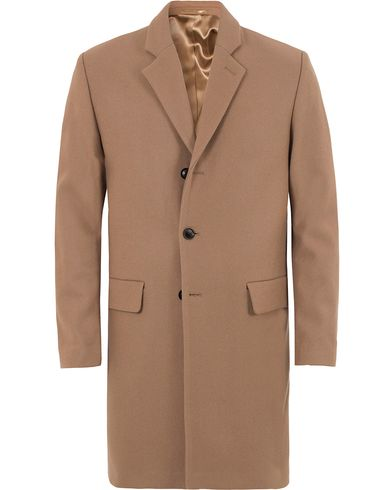 Filippa K Ralph Wool Winter Coat Cork Brown i gruppen Kläder / Jackor / Rockar hos Care of Carl (13109211r)
