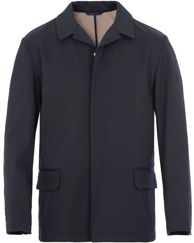 Filippa K Tech Jacket Navy i gruppen Klær / Jakker / Tynne jakker hos Care of Carl (13109311r)