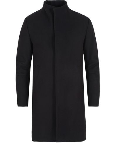 Filippa K Zac Coat Black i gruppen Jackor / Vinterjackor hos Care of Carl (13109511r)