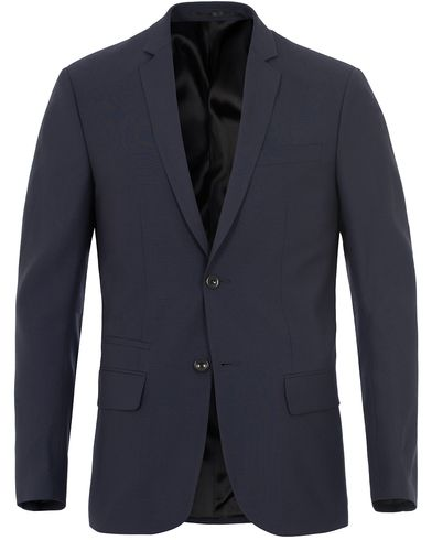 Filippa K Rick Cool Wool Jacket Hope Blue i gruppen Kläder / Kavajer / Enkelknäppta kavajer hos Care of Carl (13109611r)
