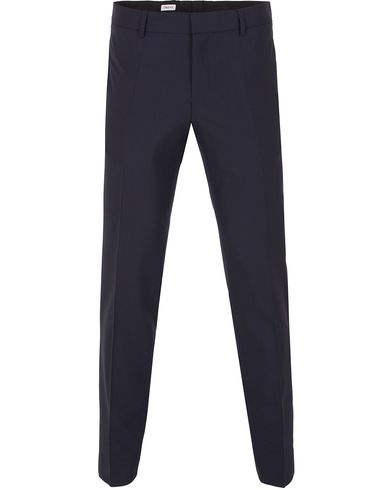 Filippa K Liam Cool Wool Slacks Hope Blue i gruppen Klær / Bukser / Dressbukser hos Care of Carl (13109711r)
