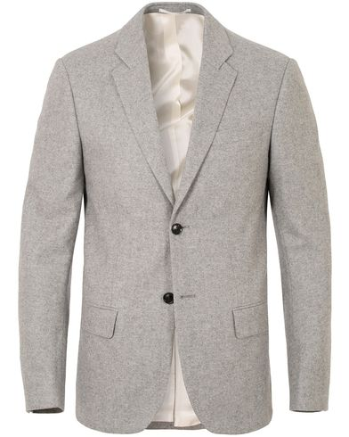 Filippa K Rick Herringbone Blazer Light Grey Melange i gruppen Kavajer / Uddakavajer hos Care of Carl (13109811r)