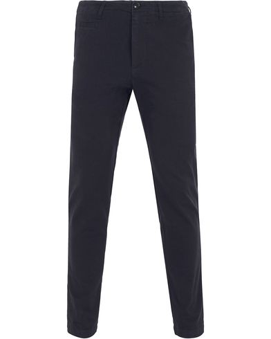 Filippa K Liam Heavy Cotton Chino Navy i gruppen Design B / Kläder / Byxor / Chinos hos Care of Carl (13109911r)