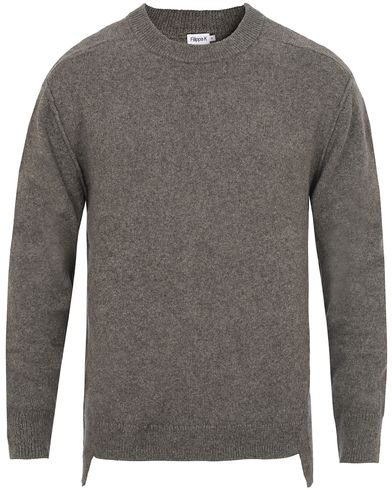 Filippa K Organic Cotton Yak Sweater Grey Melange i gruppen Tr�jor / Stickade Tr�jor hos Care of Carl (13110711r)