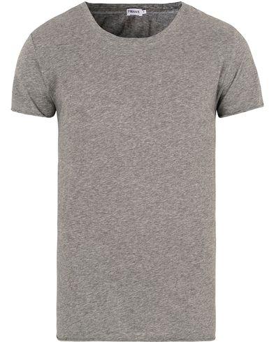 Filippa K Melange Tee Grey Melange i gruppen T-Shirts / Kortärmade t-shirts hos Care of Carl (13111711r)