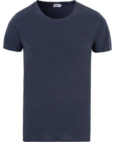 Filippa K Melange Tee Navy Melange i gruppen T-Shirts / Kortermede t-shirts hos Care of Carl (13111811r)