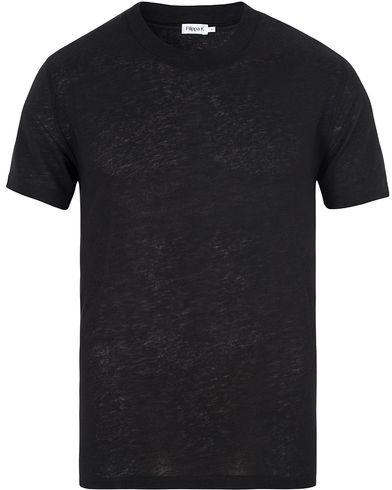 Filippa K Tensel Wool Tee Black i gruppen T-Shirts / Kortärmade t-shirts hos Care of Carl (13112011r)