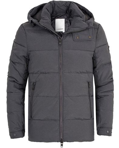 J.Lindeberg Barry 67 Down Jacket Rhino Grey i gruppen Jakker / Vatterte jakker hos Care of Carl (13112911r)