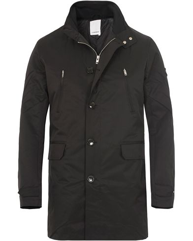 J.Lindeberg Gavin 66 Peach Poly Coat Black i gruppen Jakker / Vinterjakker hos Care of Carl (13113111r)
