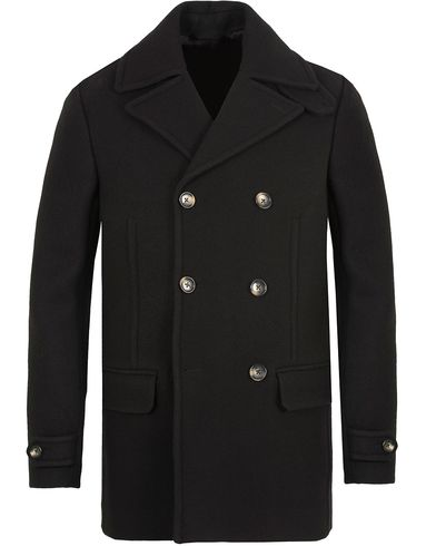 J.Lindeberg Wilton Pea Coat Jacket Black i gruppen Jakker / Skipperjakker hos Care of Carl (13113711r)