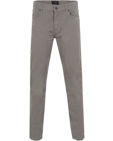 J.Lindeberg Jay Solid Stretch Light Grey i gruppen Bukser / 5-lommersbukser hos Care of Carl (13114511r)