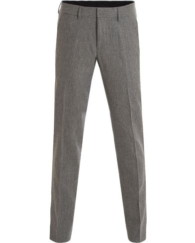 J.Lindeberg Paulie Stretch Flannel Trousers Grey i gruppen Klær / Bukser / Flanellbukser hos Care of Carl (13115111r)