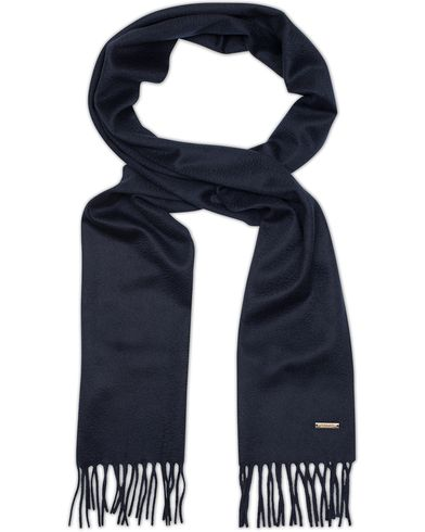 Bally Cashmere Scarf Blue Navy  i gruppen Accessoarer / Halsdukar hos Care of Carl (13118910)