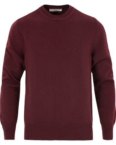 Bally Wool Knit Sweater Merlot i gruppen Klær / Gensere / Pullover / Pullovere rund hals hos Care of Carl (13119511r)