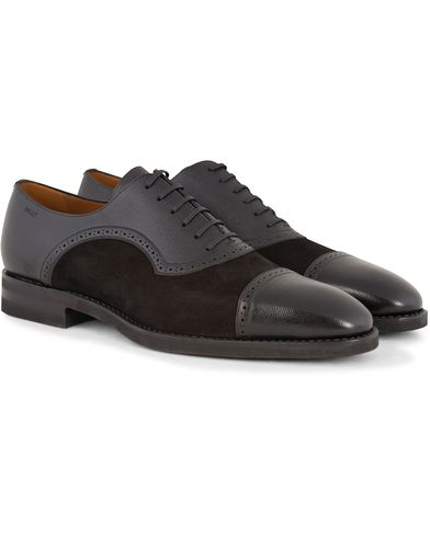 Bally Sklimann Oxfords Black Suede i gruppen Skor / Oxfords hos Care of Carl (13120011r)