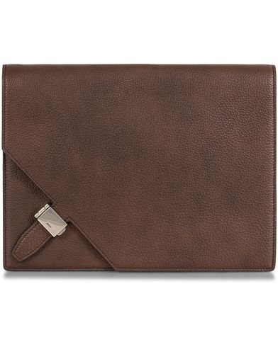 Bally Frey Document Case Dark Tan  i gruppen Design A / Väskor / Portfolios hos Care of Carl (13120610)
