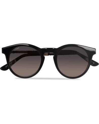 Tod's TO0188 Acetate Round Sunglasses Black  i gruppen Solbriller / Runde solbriller hos Care of Carl (13120710)