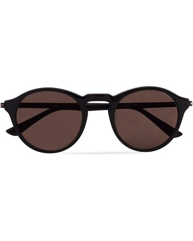 Tod's TO0179 Acetate Round Sunglasses Black  i gruppen Solglasögon / Runda solglasögon hos Care of Carl (13121110)