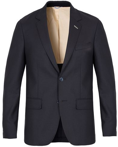 Gant Rugger The Hopsack Blazer Navy i gruppen Dressjakker / Enkeltspente dressjakker hos Care of Carl (13121811r)