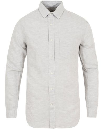 GANT Rugger Light Twill Loose Fit Shirt Cobblestone Melange i gruppen Klær / Skjorter / Casual skjorter hos Care of Carl (13122211r)