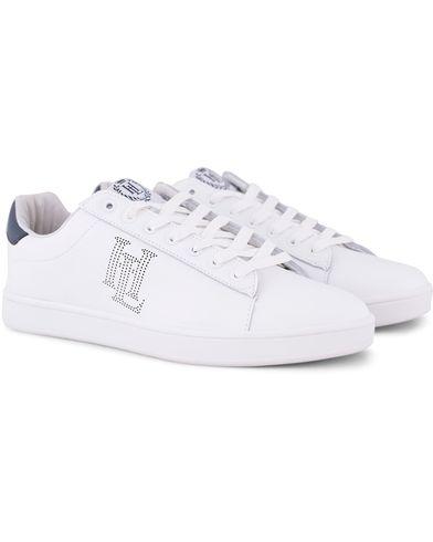 Henri Lloyd Lace Trainer Sneaker White/Navy i gruppen Sko / Sneakers / Sneakers med lavt skaft hos Care of Carl (13124511r)