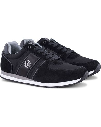 Henri Lloyd Union Runner Prime Sneaker Black/Black i gruppen Skor / Sneakers / Running sneakers hos Care of Carl (13124611r)