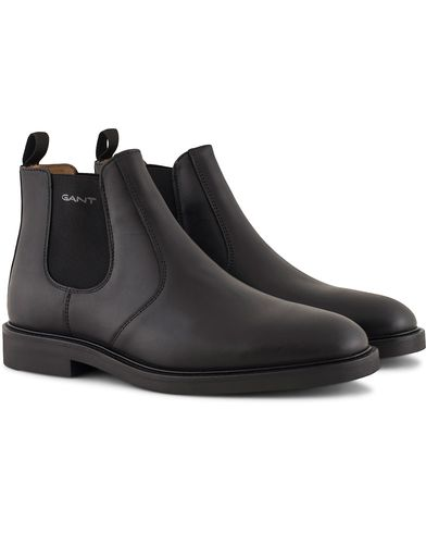 Gant Spencer Chelsea Boot Calf Black i gruppen Sko / Støvler / Chelsea boots hos Care of Carl (13125211r)
