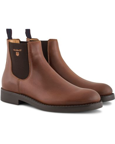 Gant Oscar Chelsea Boot Calf Cognac i gruppen Sko / Støvler / Chelsea boots hos Care of Carl (13126011r)
